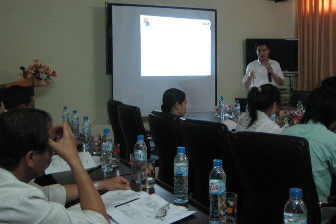 Khóa đào tạo ISO 14001:2004 cho các DN tại Hà Nam thực hiện tại BQL các KCN