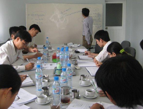 Đào tạo nhận thức HTQLCL ISO 9001:2008 tại Công ty CP Thực phẩm XK Trung Sơn