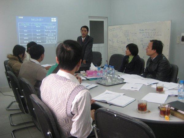 Đào tạo chương trình 5S tại Công ty Cổ phần thực phẩm xuất khẩu Trung Sơn