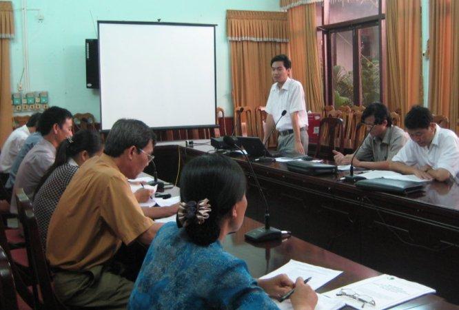 Tập huấn nhận thức HTQLCL ISO 9001:2008 tại UBND huyện Sơn Động