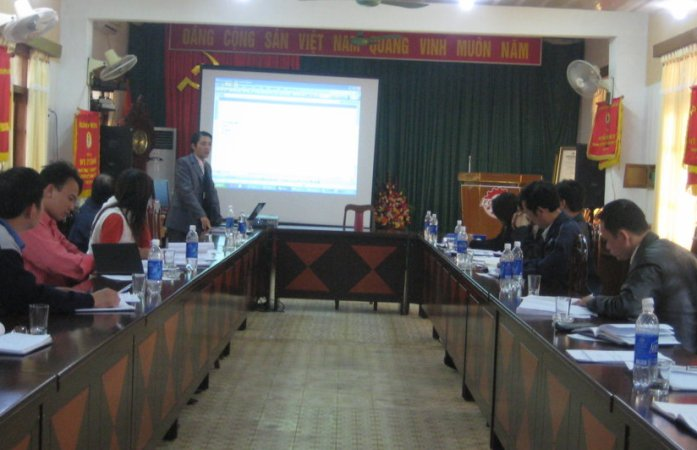 Đào tạo nhận thức HTQLMT ISO 14001:2004 tại Công ty CP Cơ khí Phổ Yên
