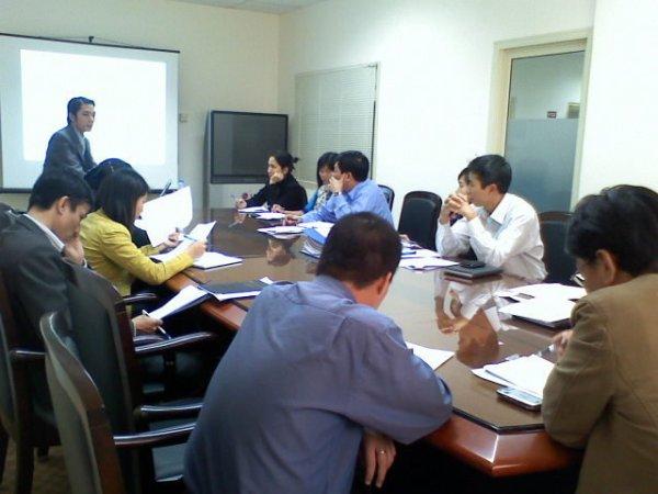 Tập huấn nhận thức HTQLCL ISO 9001:2008 tại Cty TNHH NN MTV Xây lắp hóa chất