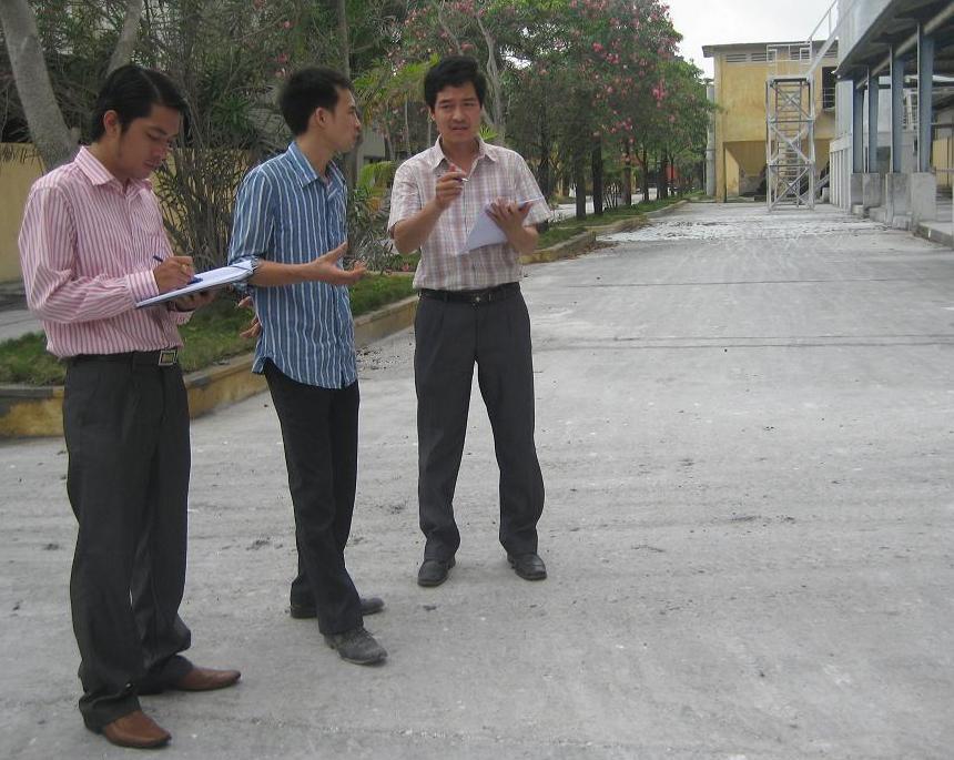 Khảo sát HTQLMT ISO 14001:2004 tại NM đất đèn và hóa chất Tràng Kênh
