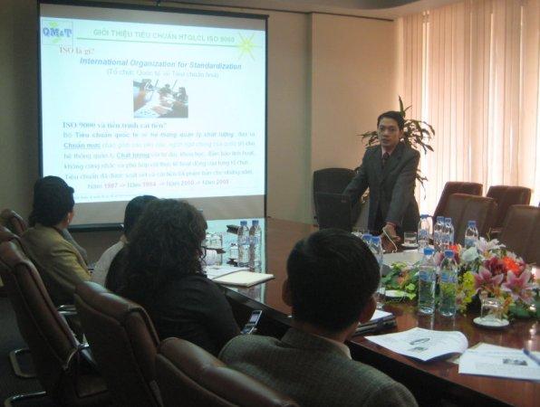 Đào tạo nhận thức Hệ thống QLCL ISO 9001:2008 tại Công ty CP Kim khí Hà Nội