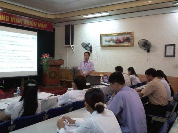 Đào tạo nhận thức HTQLMT ISO 14001:2004 tại Công ty TNHH thương mại VIC