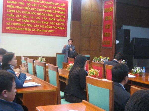Tập huấn nhận thức HTQLCL TCVN ISO 9001:2008 tại Viễn thông Bắc Ninh
