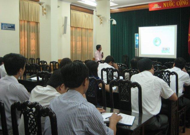 Tậo huấn nhận thức HTQLCL TCVN ISO 9001:2008 tại VP UBND tỉnh Nam Định