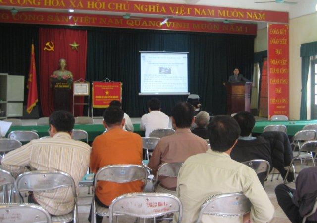Hội thảo giới thiệu các TC ISO cho các DN trên địa bàn UBND huyện Thanh Trì