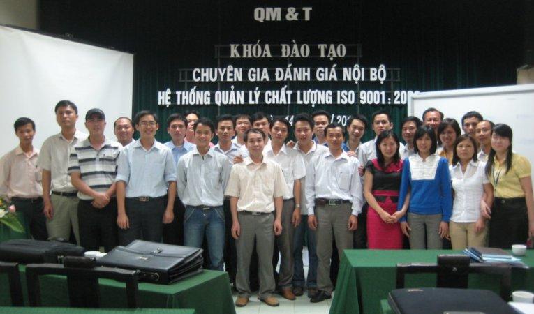 Khóa đào tạo chuyên gia ĐGNB ISO 9001:2008 ngày 14-15/4/2011