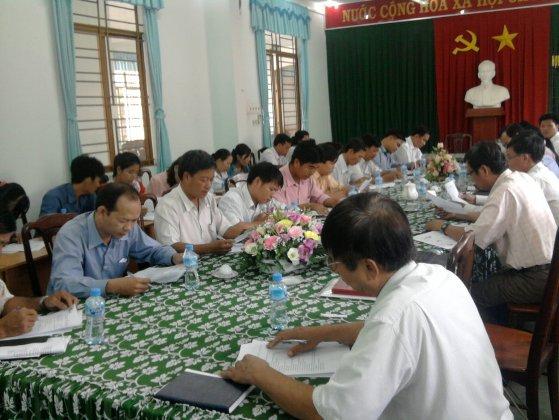Sở Tư pháp Khánh Hoà: Đánh giá nội bộ HTQLCL TCVN ISO 9001:2008