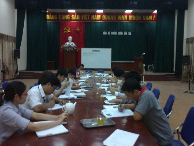 Kiếm tra đánh giá công tác ban hành áp dụng tài liệu HTQLCL TCVN ISO 9001:2008 tại các đơn vị huyện Phú Xuyên, Hà Nội