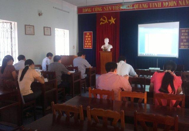 UBND huyện Lâm Hà tỉnh Lâm Đồng tổ chức triển khai đánh giá nội bộ HTQLCL TCVN ISO 9001:2008