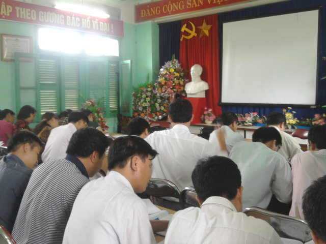 Đánh giá nội bộ HTQLCL TCVN ISO 9001:2008 tại UBND huyện Đam Rông, Lâm Đồng