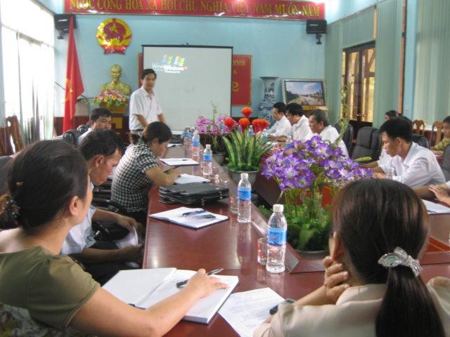Tập huấn nhận thức hướng dẫn phương pháp xây dựng tài liệu HTQLCL TCVN ISO 9001:2008 tại Chi cục quản lý thị trường Hoà Bình