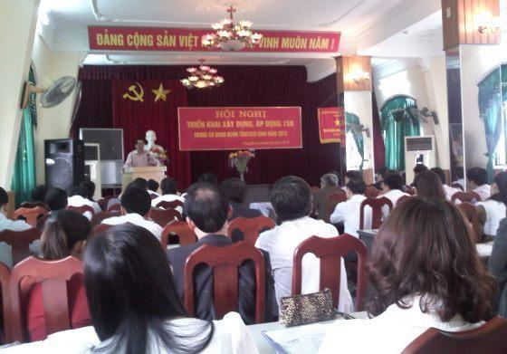 Sở Khoa học và Công nghệ Thái Bình tổ chức triển khai Kế hoạch 53/KH-UBND