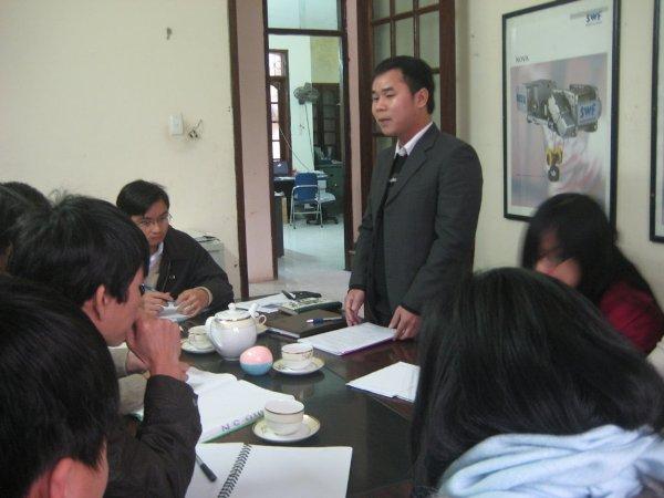 Đào tạo chuyên gia đánh giá nội bộ ISO 9001 tại Công ty TNHH Chiến Thắng - Nhà máy Z153