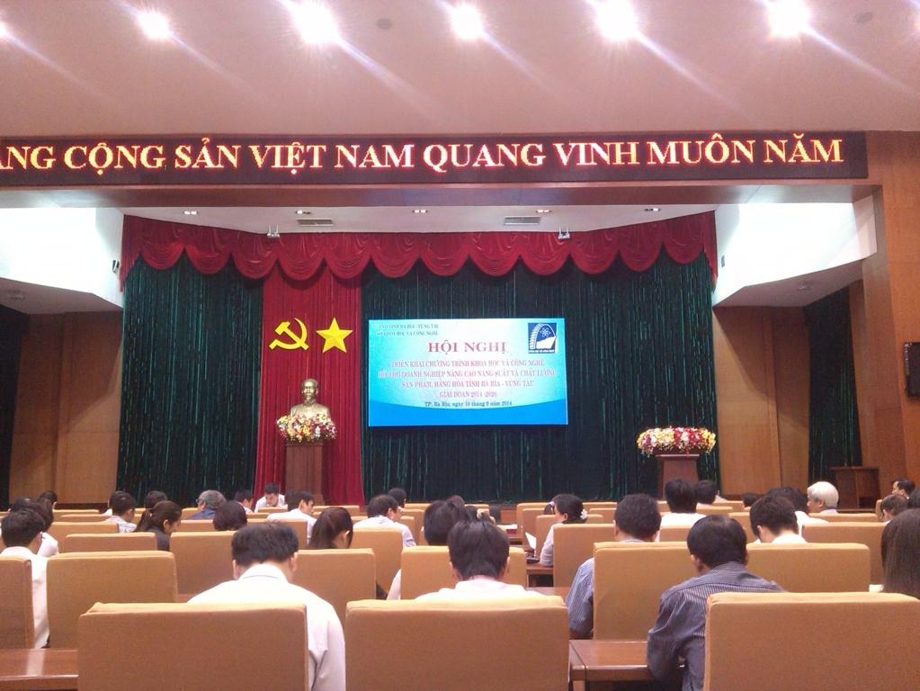 UBND tỉnh Bà Rịa-VũngTàu triển khai chương trình khoa học và công nghệ hỗ trợ doanh nghiệp
