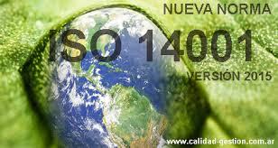 Phiên bản mới của ISO 14001