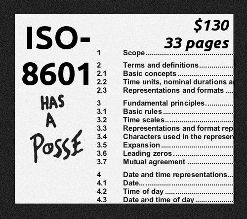 ISO 8601- Định dạng ngày và thời gian