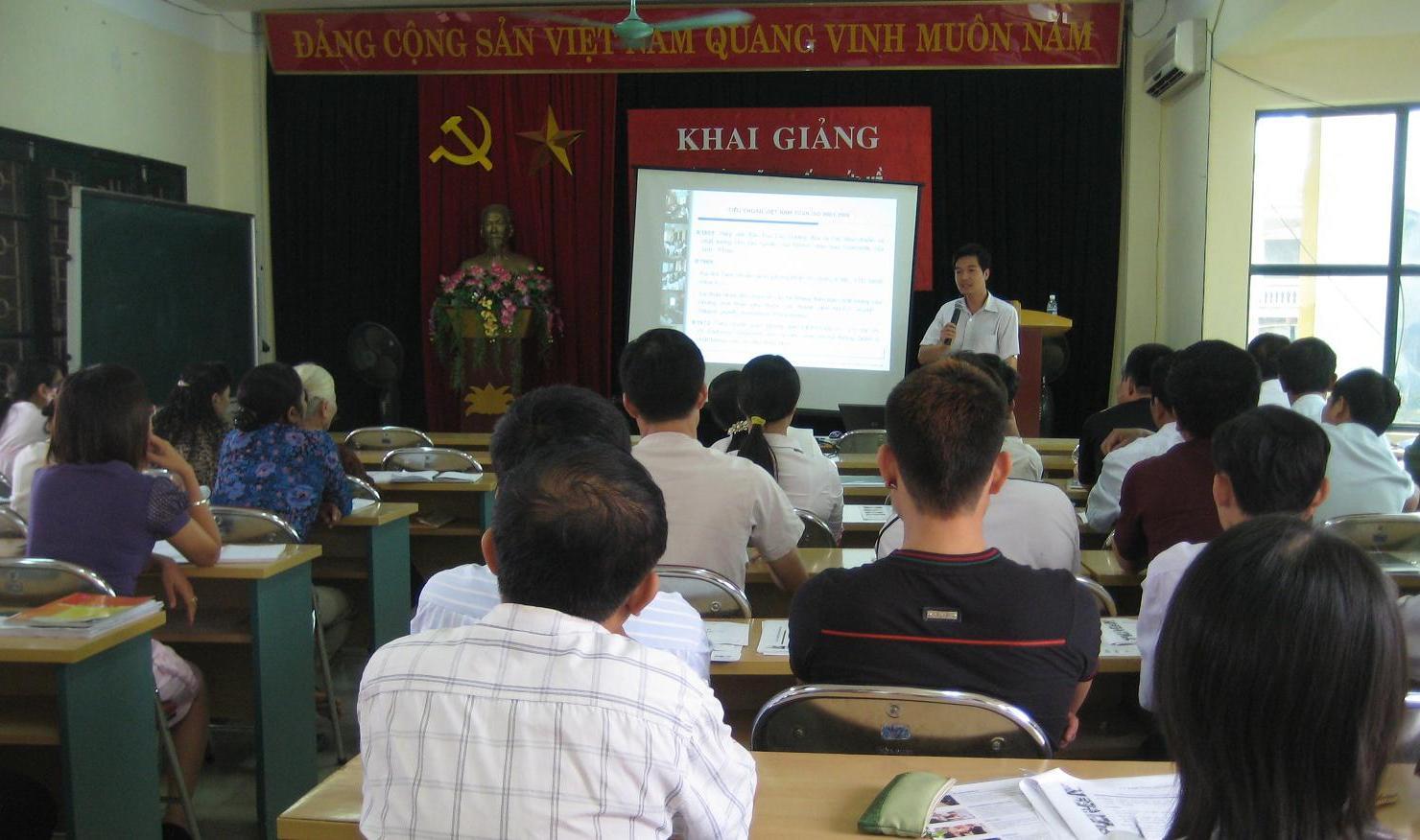 Tập huấn nhận thức ISO 9001:2008 cho các doanh nghiệp quận Hoàng Mai