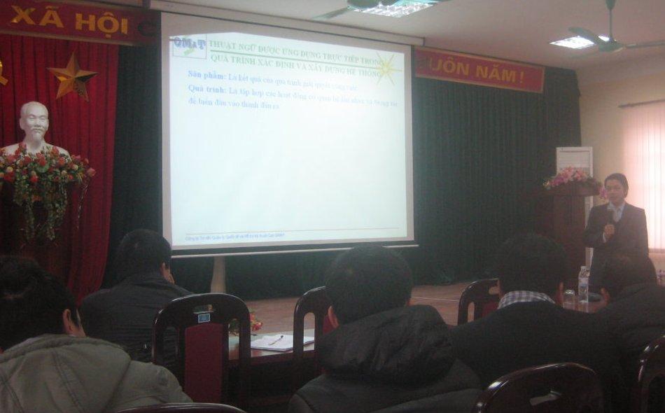 Nhận thức HTQLCL theo TCVN ISO 9001:2008 tại UBND P.Mai Động