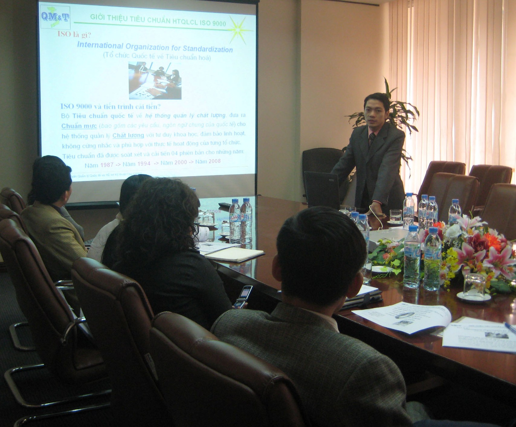 Đào tạo nhận thức HTQLCL ISO 9001:2008 tại Công ty CP Kim khí Hà Nội