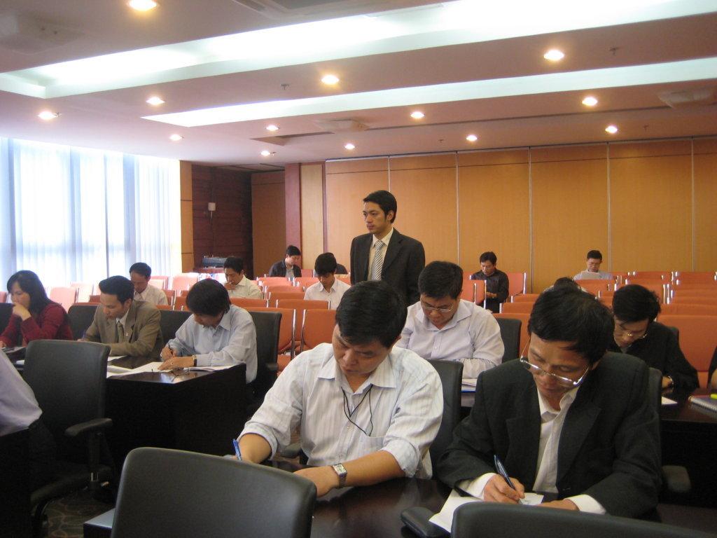 Đào tạo nhận thức HTQLCL ISO 9001 tại Tập đoàn CN tàu thủy Việt Nam