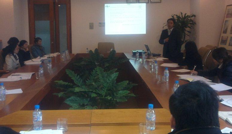 Tập huấn đánh giá nội bộ HTQLCL ISO 9001:2008 tại Cty CP Lilama Hà Nội